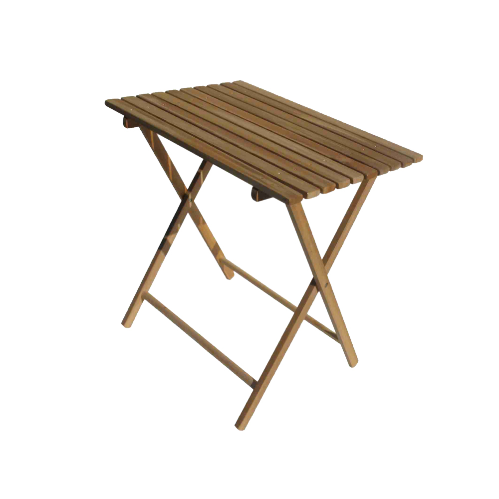 Bivouac wooden table